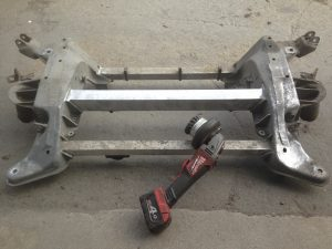 Alfa Romeo Spyder suspension refurbishment
