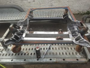 Alfa Romeo Spyder suspension refurbishment