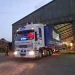 Long distance and lorry truck transport
