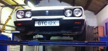 Reliant Scimitar Classic Car Restoration